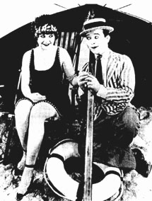 "Harry Langdon in ""Smile Please"""